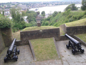 Cannon Fort Amherst, Chatham - Kent
